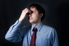 Stress time Stock Photo