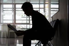 Businessman stress Stock Images