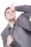 Businessman stressed Stock Photo