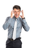 Businessman Stressed Stock Photo