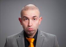 Businessman stressed Stock Image