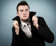 Businessman with style Stock Photography