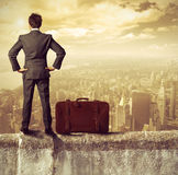 Businessman and success Stock Images