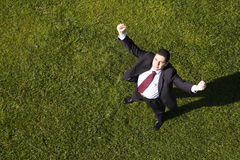 Businessman success Stock Images