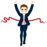 Businessman Success Winner Concept Stock Image