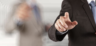 Businessman success working Royalty Free Stock Image