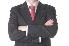 Businessman. Successful businessman with arms crossed Royalty Free Stock Photo