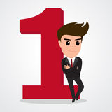 Businessman successful concept. Stock Image