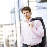 businessman successful young Στοκ εικόνα με δικαίωμα ελεύθερης χρήσης