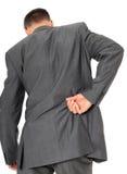 Businessman suffering from backache Stock Photos