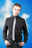 Businessman In A Suit Royalty Free Stock Photo