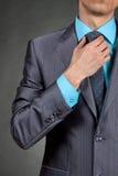 Businessman suit Stock Image