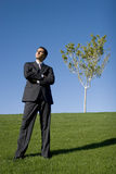 Businessman in suit Stock Photography