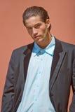 Businessman in suit stock photo