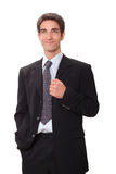 Businessman in suit Stock Image