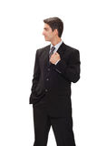 Businessman in suit Royalty Free Stock Images