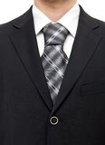Businessman suit chest Royalty Free Stock Image