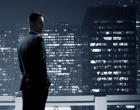 Businessman in suit Royalty Free Stock Photo