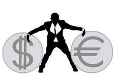 Businessman in suit four Stock Photo