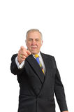 Businessman in a suit Royalty Free Stock Photos