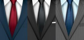 Businessman suit set Stock Photo