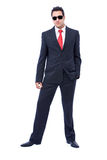 Businessman with sun glasses Royalty Free Stock Photography