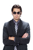 Businessman with sunglasses Stock Photography