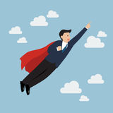 Businessman Super Hero Stock Photography