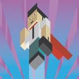 Businessman superhero Royalty Free Stock Images