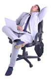 Businessman take a rest Royalty Free Stock Photos