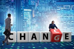 Free Businessman Taking Chance For Change Stock Photo - 151831970