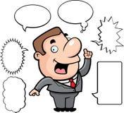 Businessman Talking Stock Photo