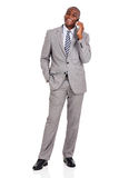 businessman talking mobile phone Stock Photo