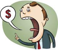 Businessman Talking Money Stock Photos