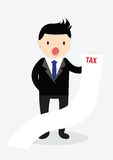Businessman Tax Concept. Stock Photography