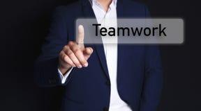 Businessman and teamwork vector illustration