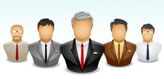 Businessman Teamwork Royalty Free Stock Photography