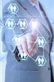 Businessman technology. Businesman and internet technology concepts Royalty Free Stock Images