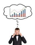 Businessman thinking Stock Photos