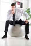 Businessman Thinking Royalty Free Stock Photo