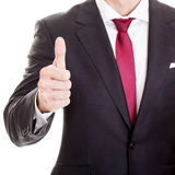 businessman thumb up Стоковое Фото
