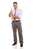 Businessman thumb up Stock Photos