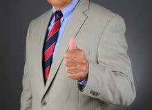 Businessman Thumbs UP Stock Photos
