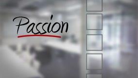 Businessman ticking passion checklist stock video footage