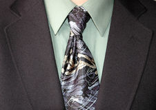 Businessman tie. And suit stock photography