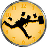 Businessman_time Imagem de Stock Royalty Free