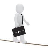 Businessman to balance Stock Photos