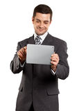Businessman With touch Pad Stock Image