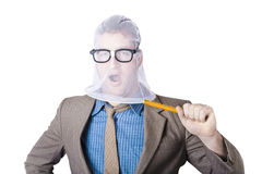 Businessman Trapped In Net Stock Photos