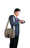 Businessman travel Stock Images